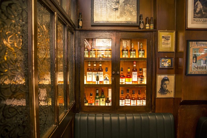 Taste Cork's best Irish whiskey collection at The Shelbourne Bar
